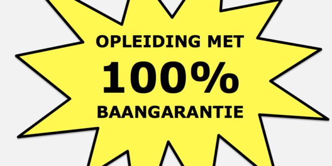 Baangarantie 100 procent